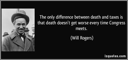Death And Taxes quote #2