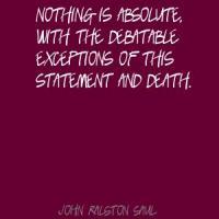 Debatable quote