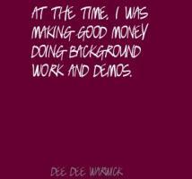 Dee Dee Warwick's quote #1