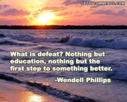 Defeating quote #1
