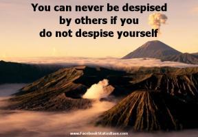 Despised quote #1