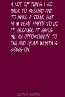 Dexter Gordon's quote