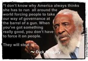 Dick Gregory's quote