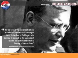 Dietrich Bonhoeffer's quote