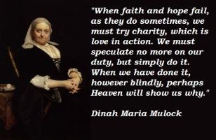 Dinah Maria Mulock's quote
