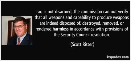 Disarmed quote #1