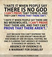 Disbelieve quote #1