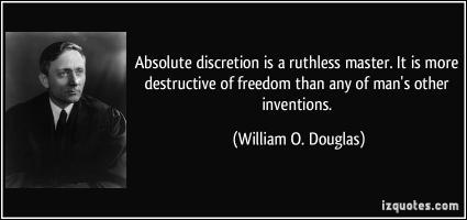 Discretion quote #3