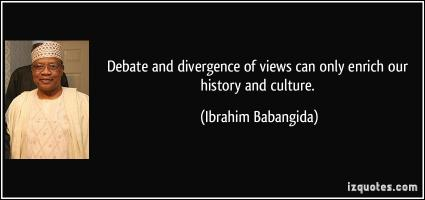 Divergence quote #2