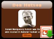 Don Hutson's quote #1