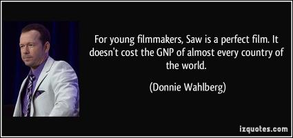 Donnie Wahlberg's quote