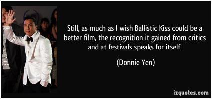 Donnie Yen's quote
