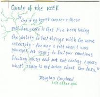 Doug Coupland's quote