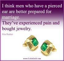 Earring quote #2
