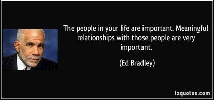Ed Bradley's quote