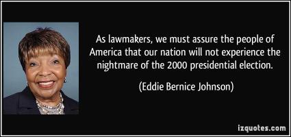 Eddie Bernice Johnson's quote