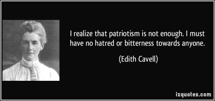Edith Cavell's quote