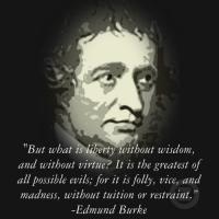 Edmund Burke's quote