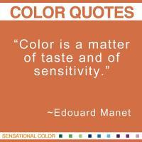 Edouard Manet's quote