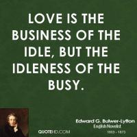 Edward G. Bulwer-Lytton's quote