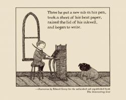 Edward Gorey's quote #2