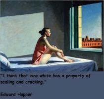 Edward Hopper's quote