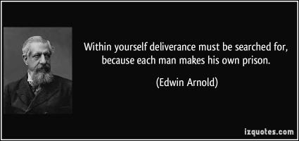 Edwin Arnold's quote