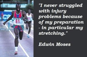 Edwin Moses's quote