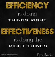 Effectiveness quote