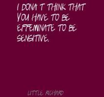 Effeminate quote #1
