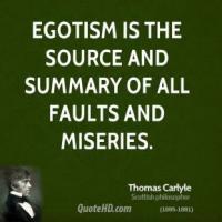 Egotism quote #3