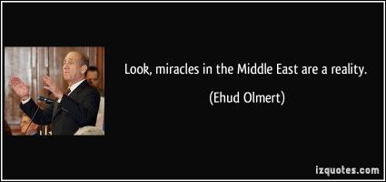 Ehud Olmert's quote