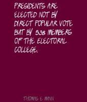 Electoral College quote #2