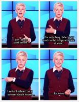 Ellen DeGeneres's quote