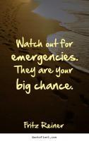 Emergencies quote #2