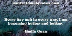 Emile Coue's quote