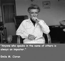 Emile M. Cioran's quote