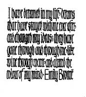 Emily Bronte's quote