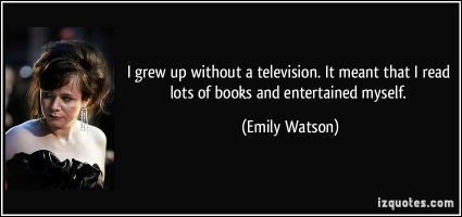 Emily Watson's quote