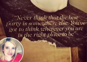 Emma Roberts's quote