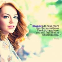 Emma Stone's quote