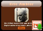 Eric Ambler's quote #1
