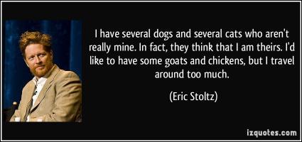 Eric Stoltz's quote