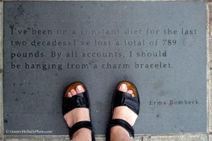 Erma Bombeck's quote