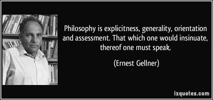 Ernest Gellner's quote #1