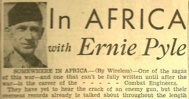 Ernie Pyle's quote