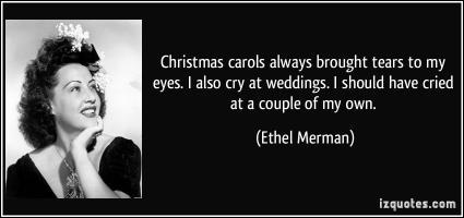 Ethel Merman's quote