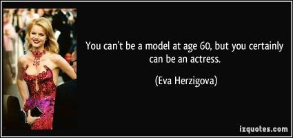 Eva Herzigova's quote