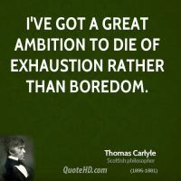 Exhaustion quote #3