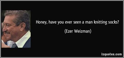Ezer Weizman's quote